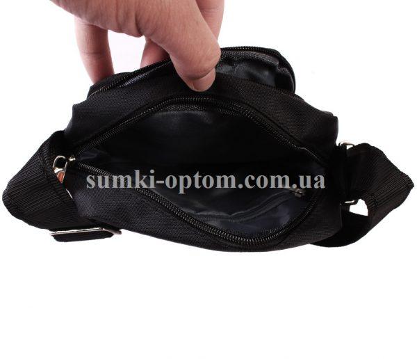 Черная тканевая сумка