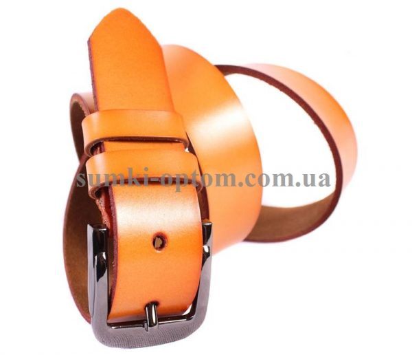 Мужской кожаный ремень 301107