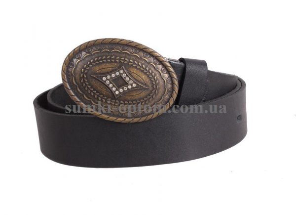 женский кожаный ремень с бляхой blx3090364
