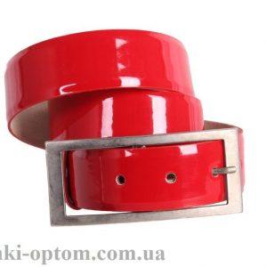 женский кожаный ремень red114