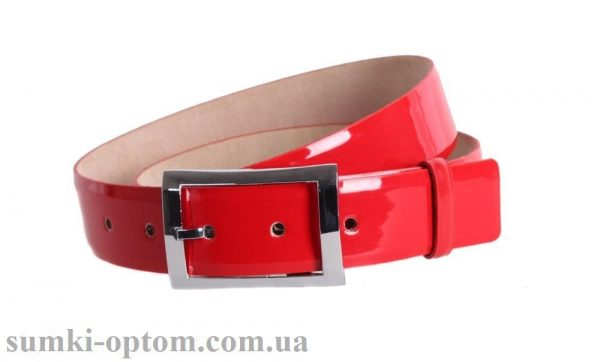 женский кожаный ремень red101
