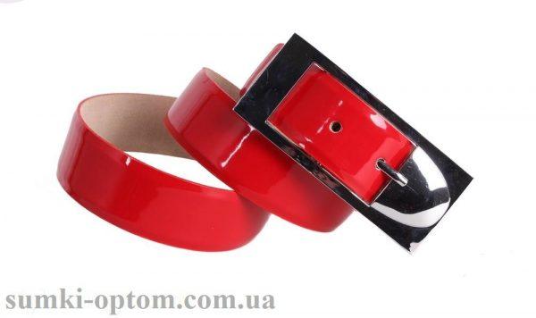 женский кожаный ремень red102