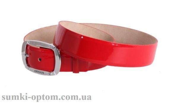 женский кожаный ремень red103