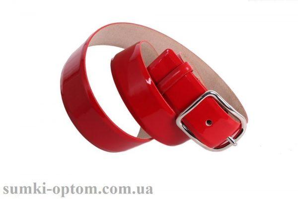 женский кожаный ремень red104