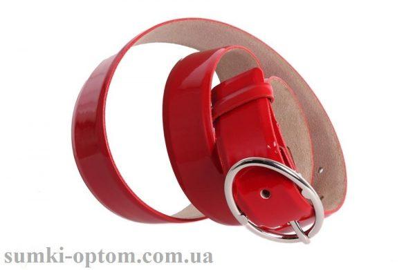 женский кожаный ремень red108