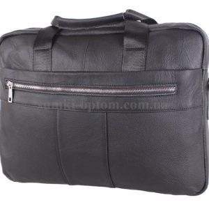 Кожаная сумка в черном цветовом решении