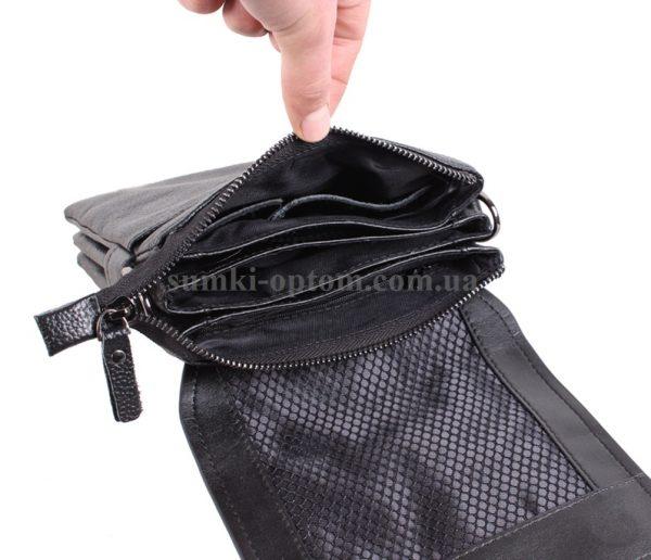 Компактная сумка из качественной натуральной кожи