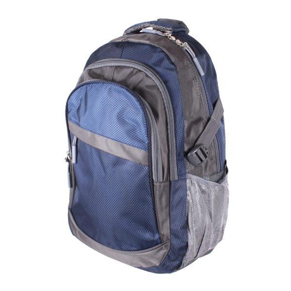 Синий рюкзак из полиэстера