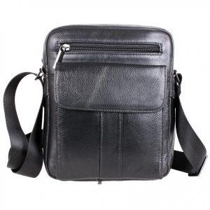 Универсальная кожаная сумка для мужчин