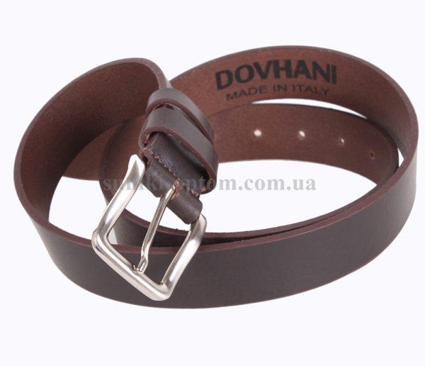 Мужской стильный ремень Dovhani Italy