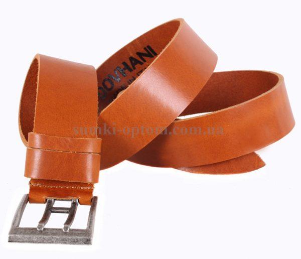 Мужской кожаный ремень Dovhani Italy 11