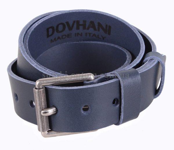 Ремень Dovhani Italy в синем цветовом решении