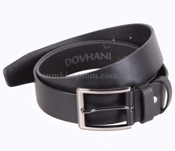 Ремень Dovhani в черном цветовом решении