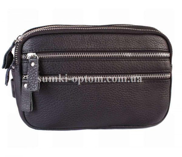 Компактная кожаная сумка