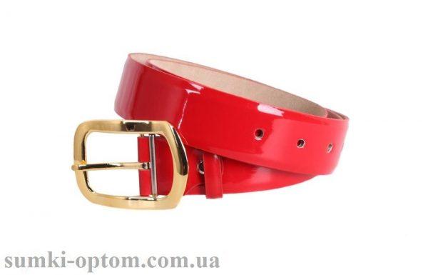 женский кожаный ремень red109