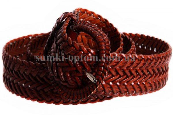 женский плетеный ремень 304430