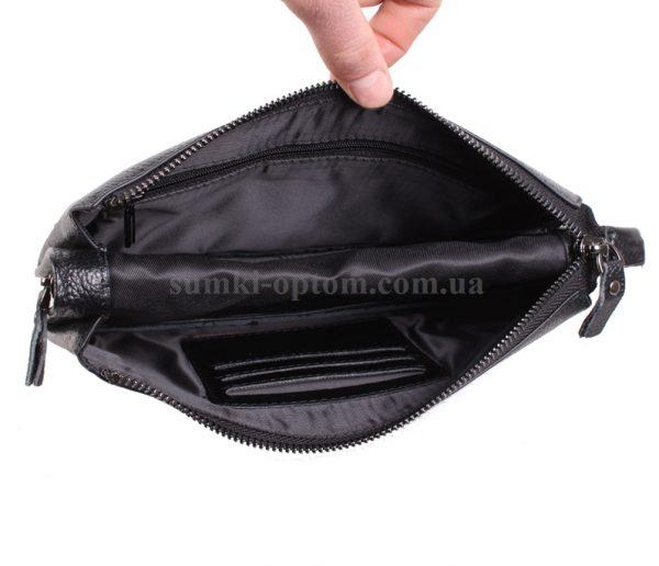 Черный клатч для мужчин