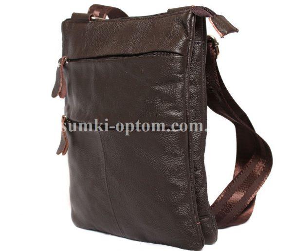 Добротная сумка из натуральной кожи