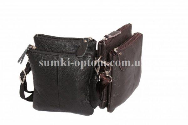 Кожаная сумка классического формата