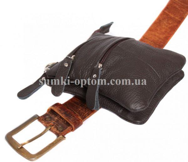 Коричневая сумка для мужчин