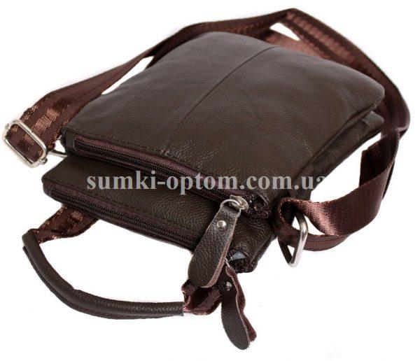 Кожаная сумка с ручкой