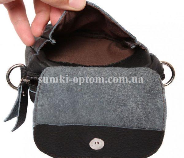 Добротная кожаная сумка