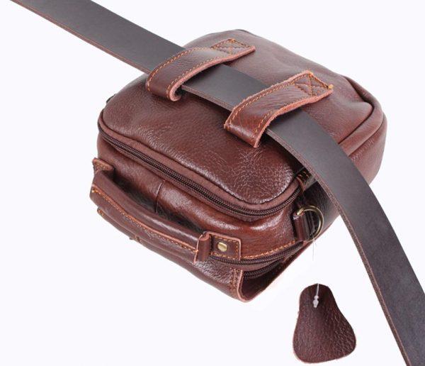 Мужская сумка оптимального размера