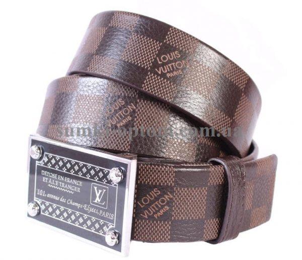 Мужской ремень известного бренда Louis Vuitton 301111