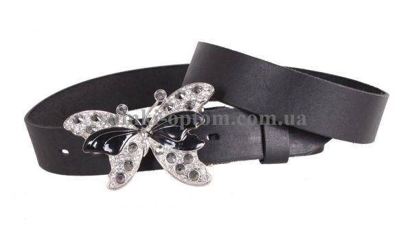 женский кожаный ремень с бляхой blx3090366
