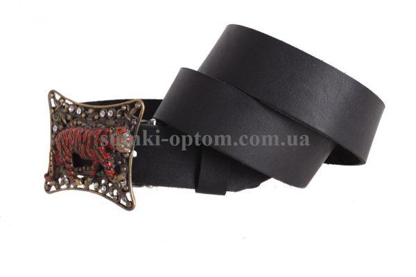 мужской кожаный ремень с бляхой blx3090372