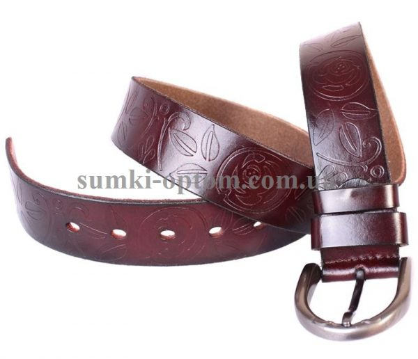 женский кожаный ремень 301124