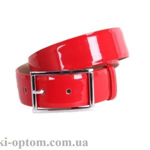 женский кожаный ремень red100