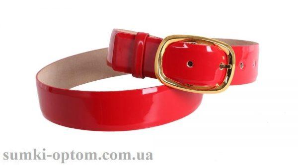 женский кожаный ремень red105