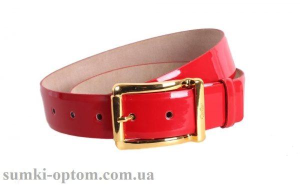 женский кожаный ремень red110
