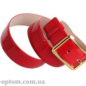 женский кожаный ремень red111