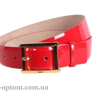 женский кожаный ремень red113