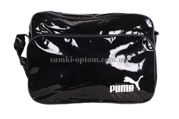 Лакированая спортивная сумка Puma