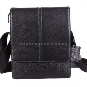 Мужская сумка через плече из натуральной кожи
