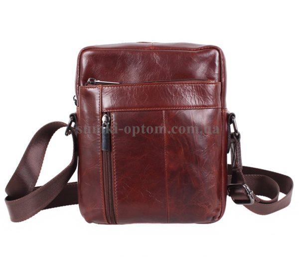 Стильная и привлекательная мужская кожаная сумка