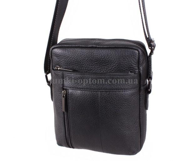 Мужская сумка через плечо из натуральной кожи высокого качества