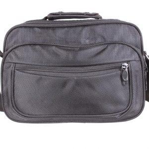 Серая мужская сумка