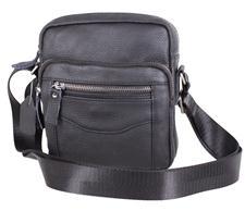 Практичная сумка из натуральной кожи