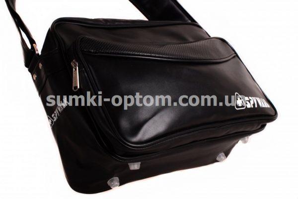 Молодежная черная сумка Spywalk