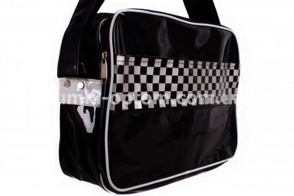 Черная сумка с мозаикой Spywalk