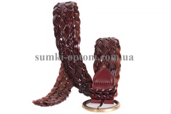 женский плетеный ремень 304380