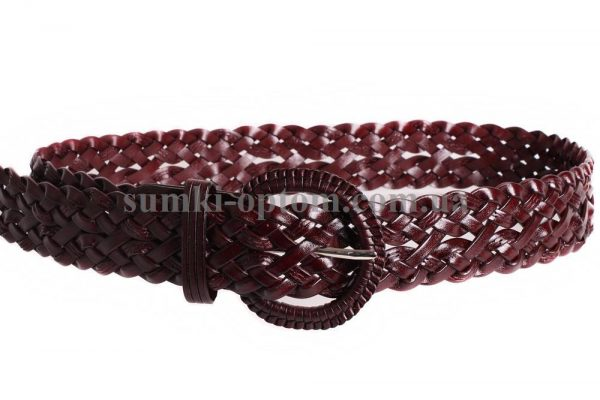 женский плетеный ремень 304408