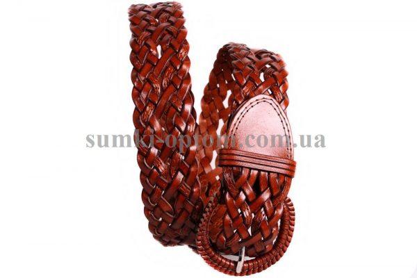 женский плетеный ремень 304419