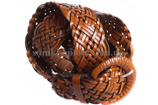 женский плетеный ремень 304471