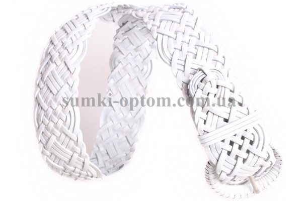 женский плетеный ремень 304480