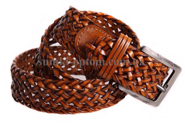 Плетеный ремень унисекс 304977
